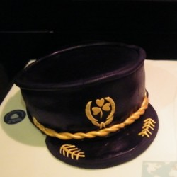 Pilot's Captain Hat Cake