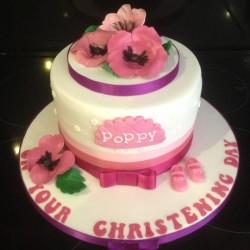 Christening Cake Poppy