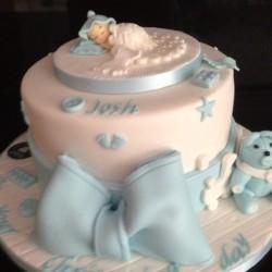 Christening Cake Josh