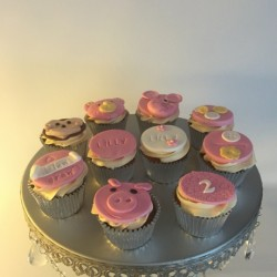 Cupcakes for 2nd Birthday