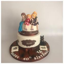 Family model cake