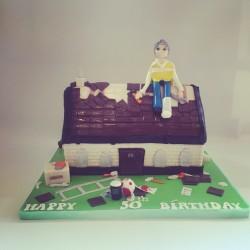 Roofer Cake