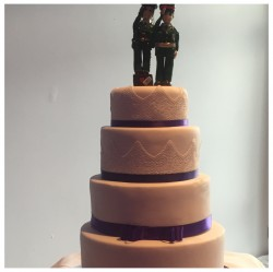 Wedding Cake Army Toppers