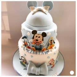 Christening Cake - Two Tier