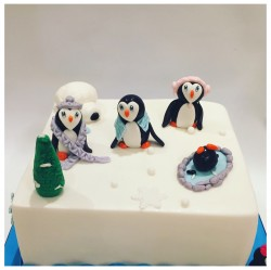 Peinguin cake