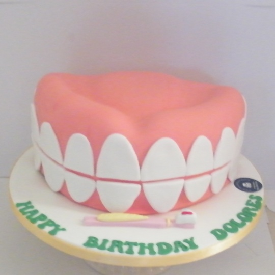 Birthday Cake Design For Dentist : A Cake for a Dentist - Mrs Doyle s Cakes - Clane Co. Kildare
