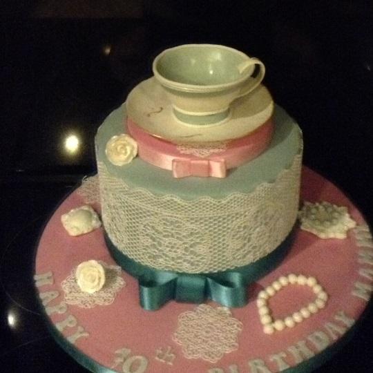 Tea Cup Cake - Mrs Doyle's Cakes - Clane Co. Kildare
